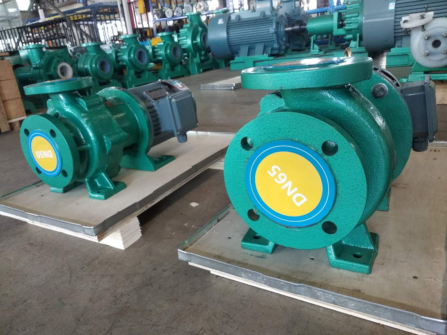 PTFE lining magnetic pump
